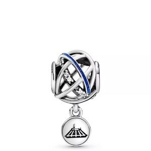 Disney Pandora Space Mountain 45th Anniv Charm